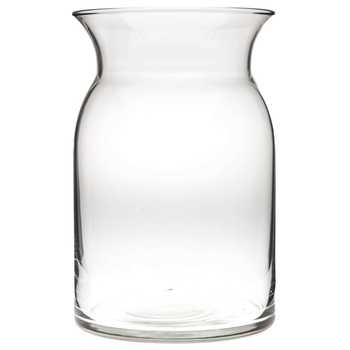 Glass Milk Jug Vase